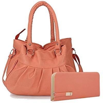 CRYSTLE Shoulder Bag(Pink)