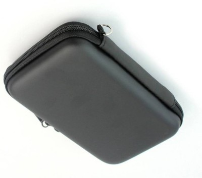 360Mart External Hard Drive Case 2.5 Portable External Hard Disk Drive Pouch Case Cover(For WD, Seagate, Toshiba, Samsung, Lenovo, Kingston, Transcend, Apple, Nvidia, Black)