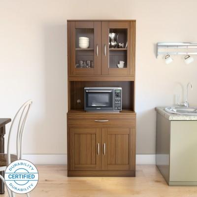 Flipkart Perfect Homes Engineered Wood Kitchen Cabinet(Finish Color - Walnut)
