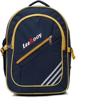 58% OFF on LeeRooy BAH Lee Rooy School Bag - BG31BLU Waterproof School Bag( 20f6d31a442f2