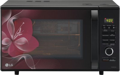 LG 28 L Charcoal Convection Microwave Oven(MJ2886BWUM, Floral)