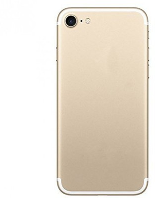 Tarkan Tempered Glass Guard for Gold Plated Matte Finish Front + Back Premium 9H Shatterproof Tempered Glass Screen Protector with Dry,Wet Wipe for Apple iPhone 7 - Gold