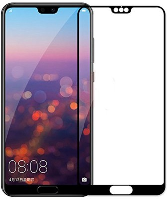 Tarkan Tempered Glass Guard for Huawei P20 Pro Premium Curved Anti Burst Tempered Glass Screen Protector (Carbon Black)(Pack of 1)