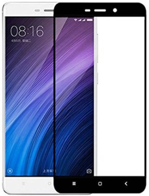 EASYBIZZ Edge To Edge Tempered Glass for Mi Redmi 4A(Pack of 1)