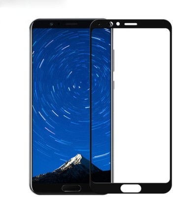 PRIME RETAIL Edge To Edge Tempered Glass for Huawei Honor View 10 Full Glue Curved Glass(Pack of 2)