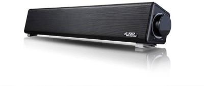 F&D E200 3 W Portable Laptop/Desktop Speaker(Black, Stereo Channel)