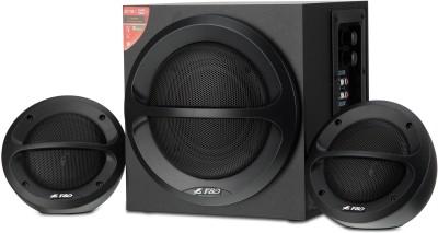 F&D A110 Portable Laptop/Desktop Speaker(Black, 2.1 Channel)