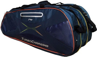 Li-Ning 9 IN 1 Badminton Kit bag - ABDC006 Kit Bag(Blue, Kit Bag)