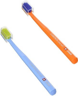 CURAPROX CS 5460 Ultra Soft Toothbrush(Pack of 2)