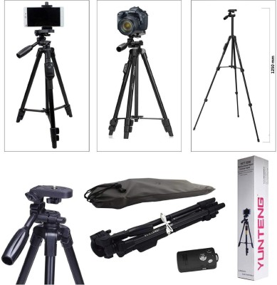 SG Retails Hub Tripod 5208 Tripod, Monopod Kit(Black, Supports Up to 1.5 g)