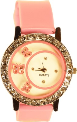 NEUTRON Brand New Exclusive Butterfly Pink Color Watch (G108) For Girls And Women Watch  - For Girls