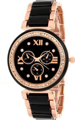 PARALLEL TIMES New Collection Single Black n White Combination for Boys. Watch  - For Men & Women