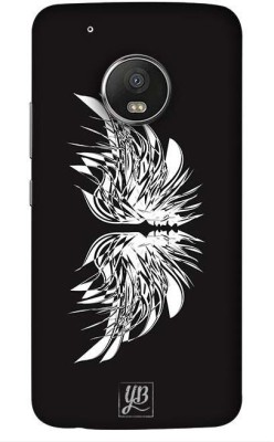 YuBingo Back Cover for Motorola Moto G5 Plus Black, Waterproof