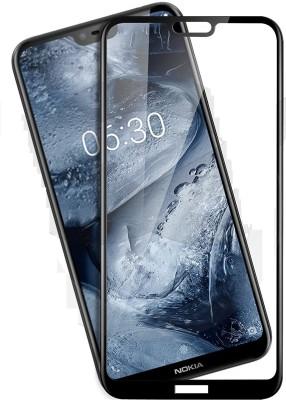 CASEHUNT Edge To Edge Tempered Glass for NOKIA 6.1 PLUS (NOKIA X6 PLUS)(Pack of 1)