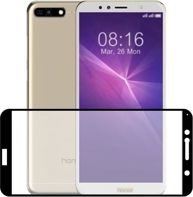 Case Creation Edge To Edge Tempered Glass for Honor 7A(Pack of 1)