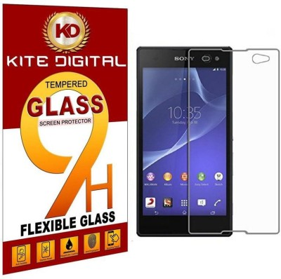 KITE DIGITAL Tempered Glass Guard for SONY XPERIA C3(Pack of 1)