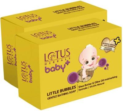 Lotus Herbals Baby Plus Little Bubbles Gentle Bathing Soap(2 x 75 g)