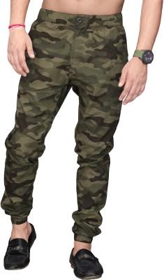 SAPPER Camouflage Men Light Green Track Pants