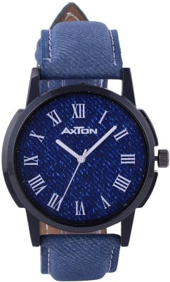 AXTON AXG-5012 Analog Blue and White Dial Unisex Watch Analog Watch  - For Men