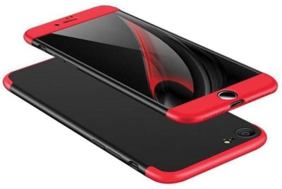 Unirock Front & Back Case for Apple iPhone 5s(Full Body 3-In-1 Slim Fit Cover Better Than Normal Case Black Red], Dual Protection)