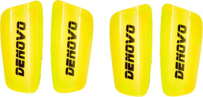 DeNovo Proffesional (Two Pairs) Football Shin Guard(L, Yellow)