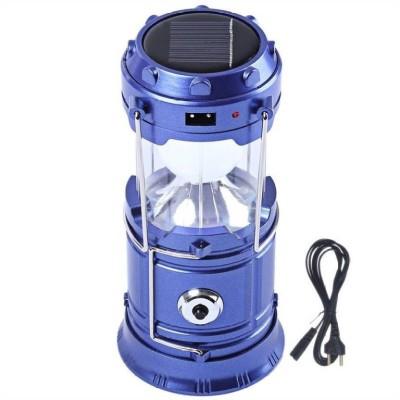BERRIN Led Solar Emergency Light Bulb Travel Camping Lantern Multicolor Plastic Table Lantern(29.3 cm X 14 cm, Pack of 1)