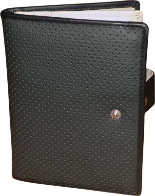 Kan Pure Leather Travel Document Holder/Passport Organizer For Men   Women Multicolor Kan Wallets