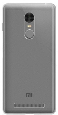 Mobikart Back Cover for Mi Redmi Note 4 Transparent, Waterproof