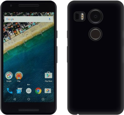 Case Creation Back Cover for LG Google Nexus 5X LG-H791(Smooth Finish Black, Dual Protection, Plastic) Flipkart
