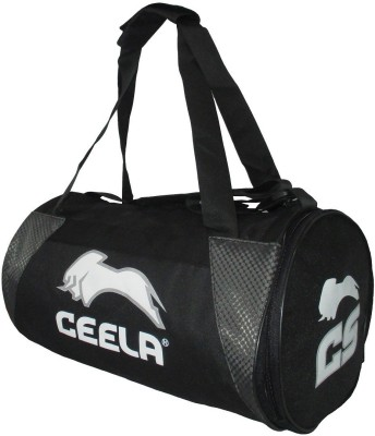 Ceela Sports with Shoes Compartment Gym Bag(Black)