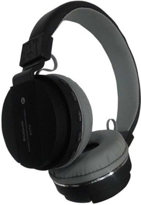 blueseed S460 Super Sound Wireless With|| FM || AUX Compatible|| Bluetooth, Wired Headset with Mic(Black, Over the Ear)