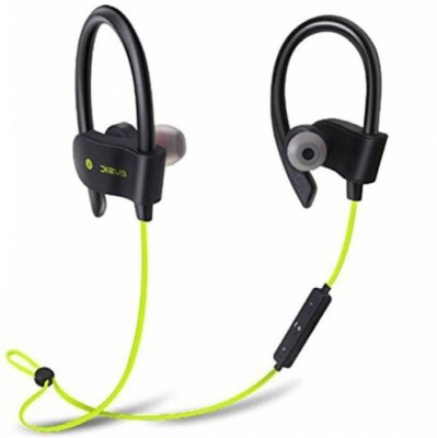 CALLIE QC10 Wireless Neckband Bluetooth Headset with Mic(Green, In the Ear)