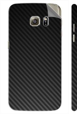 Snooky Samsung Galaxy S7 Edge Mobile Skin(Black Carbon Fiber)