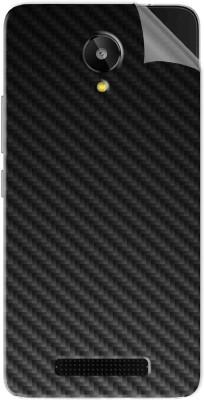 Snooky Lava Iris X1 Selfie Mobile Skin(Black Carbon Fiber)