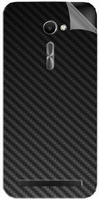 Snooky Asus Zenfone 2 Deluxe ZE551ML Mobile Skin(Black Carbon Fiber)