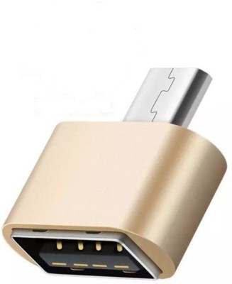 SK USB, Micro USB OTG Adapter(Pack of 1)