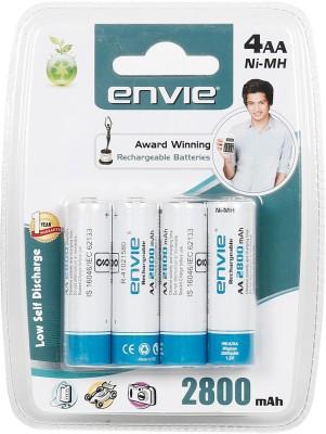 Envie 4 x AA 2800 mAh Ni-Mh  Battery(Pack of 4)