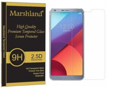 Marshland Tempered Glass Guard for LG G6, 9H Hardness, Shatter Proof, Bubble-Free, Oleo phobic Coating, Anti Scratch, Anti Shock(Pack of 1)
