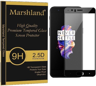 Marshland Screen Guard for OnePlus 5 front black scratch resistance(Pack of 1)