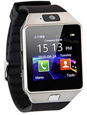 SEGGO DZ09 Black Smartwatch with Camera, Calling Function Bluetooth V3.0, Support SIM Card, SD Card, Other Mobiles Black Smartwatch(Black Strap Medium)