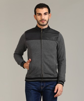 Flying Machine Full Sleeve Solid Men Sweatshirt at flipkart
