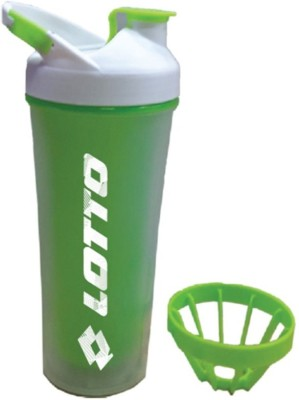 Lotto Shaker Dane 450 ml Sipper Pack of 1, Green, PET  Lotto Shakers and Sippers