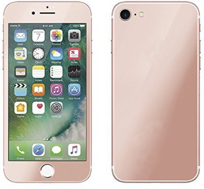 Tarkan Tempered Glass Guard for Rose Plated Matte Finish Front + Back Premium 9H Shatterproof Tempered Glass Screen Protector with Dry,Wet Wipe for Apple iPhone 7 - Rose Gold