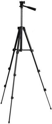 Oxza Adjustable Mobile and Camera Stand Holder Tripod(Black, Supports Up to 2500 g) 1