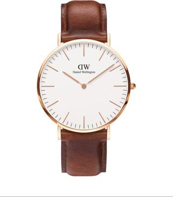 Daniel Wellington DW00100006 Classic St Mawes Analog Watch  – For Men