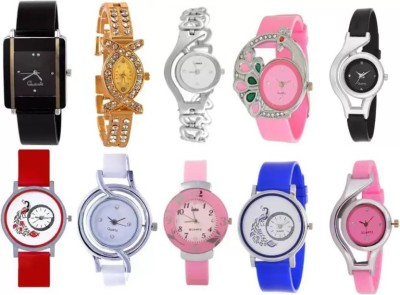 parallel times Presenting the Party Wedding Collection With Combo of 3 Watches For Girls Watch  - For Women