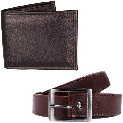 Caring Boys Casual Brown Synthetic Belt