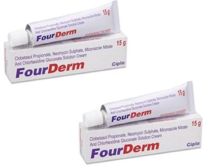 Cipla FourDerm Anti-fungal & Anti-Ageing Cream(30 g) at flipkart