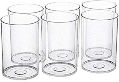 LiMETRO Stainless Steel Serving Glasses, Unbreakable Water Drinking Glasses Set - G2-12 Glass Set(Steel, 350 ml, Steel, Pack of 12)