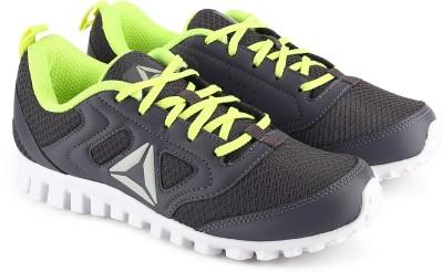 REEBOK Boys Lace Running Shoes Grey REEBOK Sports Shoes